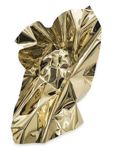 , 'Mx Gold 2,' 2018, Galerie Isa