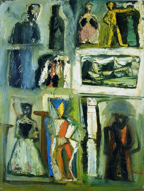 , 'Composition,' 1954, Brun Fine Art