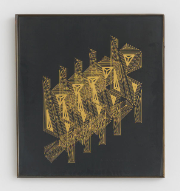 , 'Homage to Duchamp (Nude Ascending the Staircase),' 1970, Magenta Plains