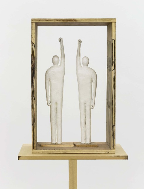 , 'Persons Lifting Their Right Arms or/and Left Arms,' 2018, Beijing Commune