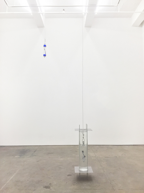 , 'Taking a picture underneath a puddle (thermometer),' 2015, Johannes Vogt Gallery