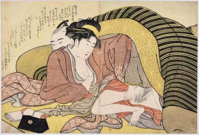 Katsukawa Shunsho, 'Spring Leaf ', 1790 ca., Wallector