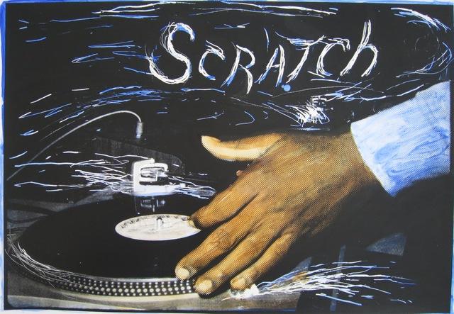 Charlie Ahearn, 'Scratch DJ (blue)', 2016, Gastman