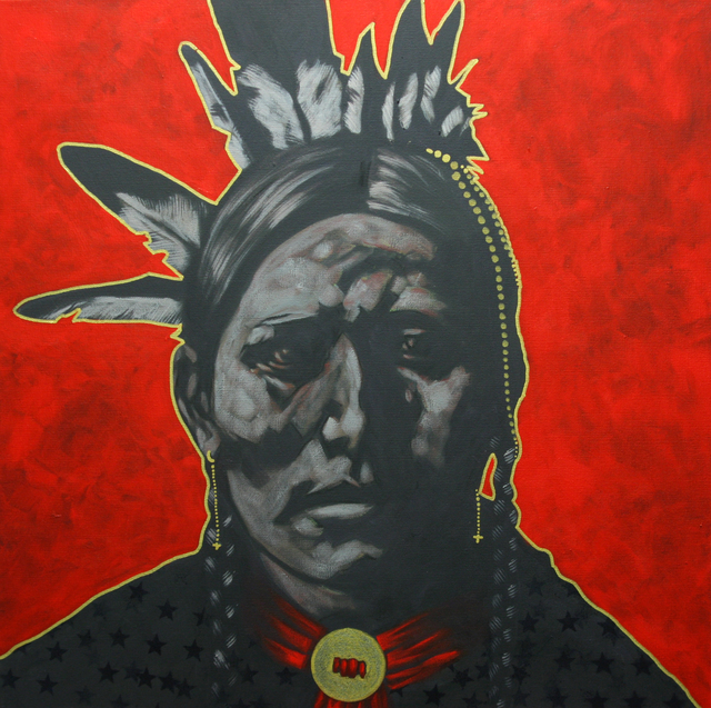 , 'John Milk-Lakota ,' 2015, Bonner David Galleries