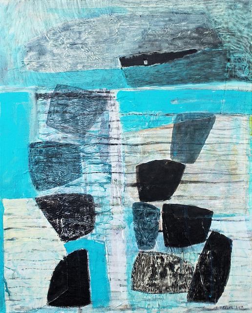 Eva Isaksen, 'Moon, Rocks, Sea', 2019, Foster/White Gallery