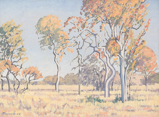 Jacob Hendrik Pierneef, 'Landscape with Foreground Trees', Strauss & Co