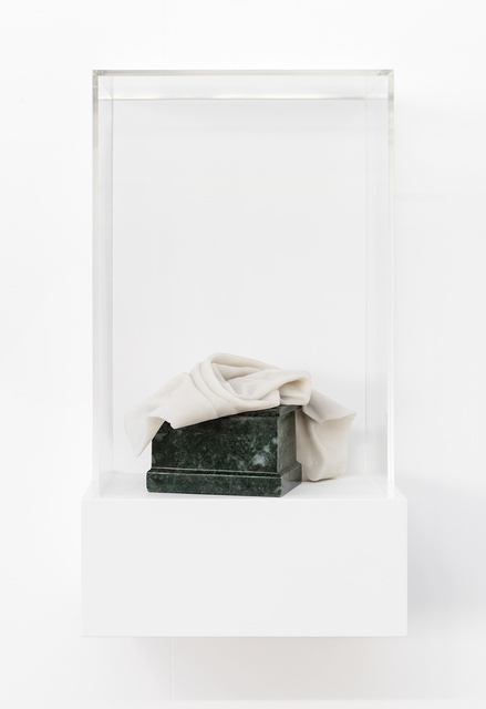 , 'As Is... (Statuette - Christ, About 1320, Anon.),' 2015, Esther Schipper