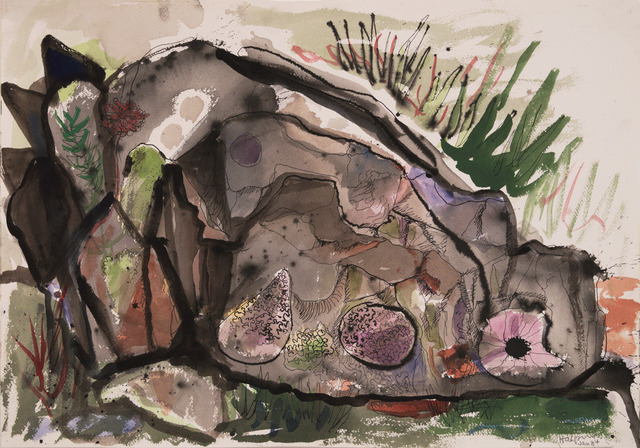 , 'Rock Study,' 1984, Edward Cella Art and Architecture