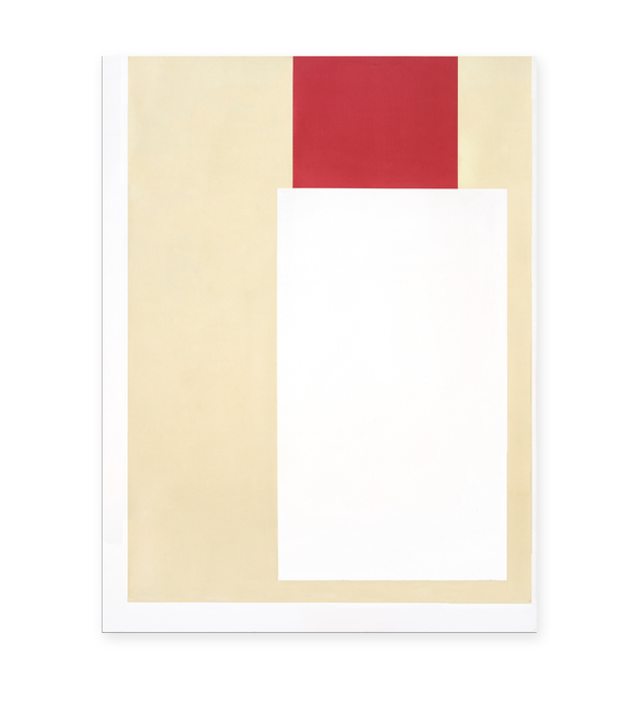 , '2 Blocks Red White,' 2015, Richard Levy Gallery