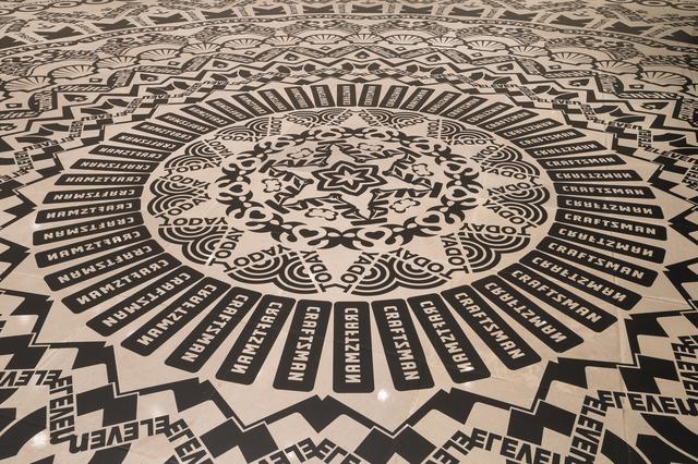 , 'Wheel of Everyday Life,' 2013, Rice University Art Gallery