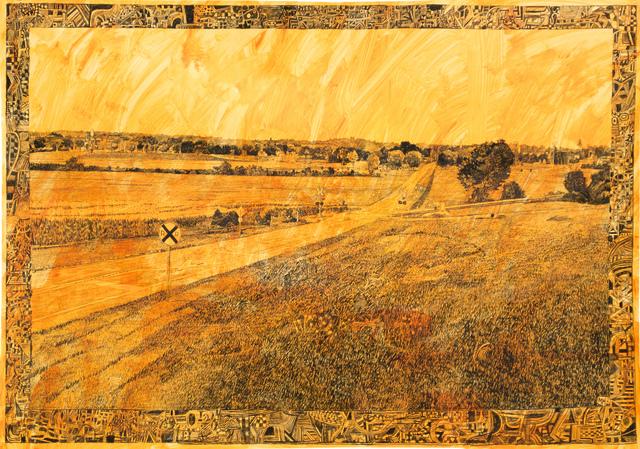, 'View From Oak Knoll, Gettysburg, August 2016,' 2016, Fleisher/Ollman