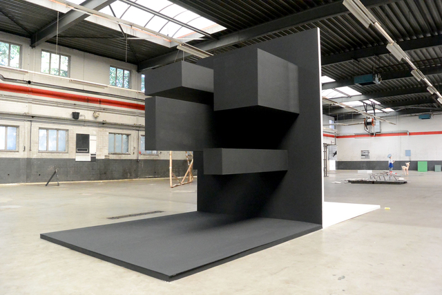 Heike Wähner, 'Portrait of Sorrow', 2015, Installation, Wood steel, Alfa Gallery