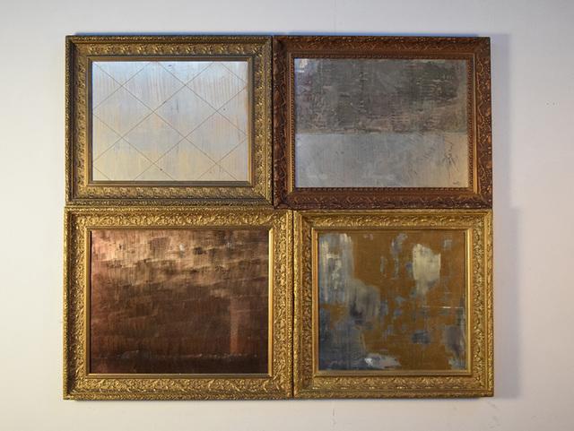 , 'Silver Gold,' 2017, Galleria Massimo Minini