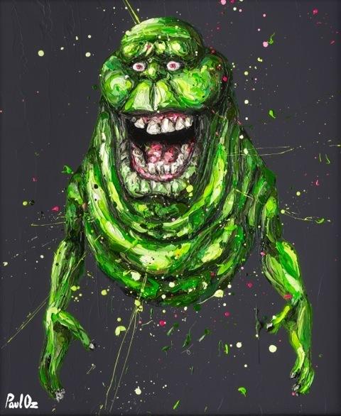 ", '""Ugly little spud ain't he..."" (Slimer),' 2015, Imitate Modern"