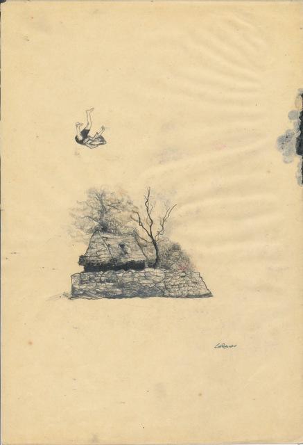 , 'Cottage Levitation Composition ,' 2008, Cob