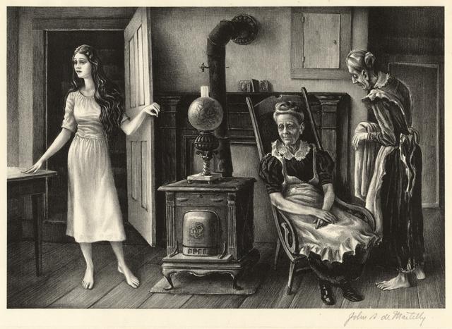 John de Martelly, 'For the Love of Barbara Allen', 1942, Stone + Press Gallery