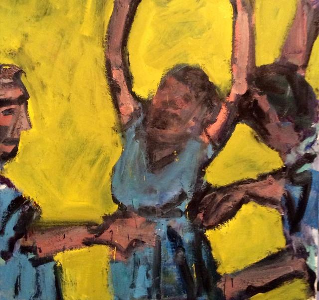 , 'Fracas,' 2015, Stuart & Co. Gallery