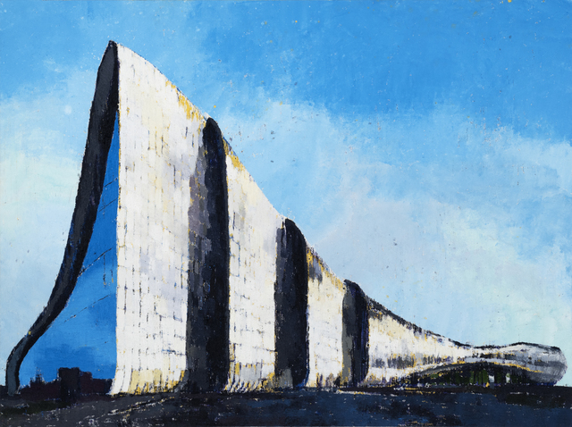 , 'Heydar Aliyev Cultural Center,' 2017, Leila Heller Gallery