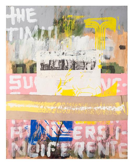 , 'First we will kill all the subversives...,' ca. 2012, Deborah Colton Gallery