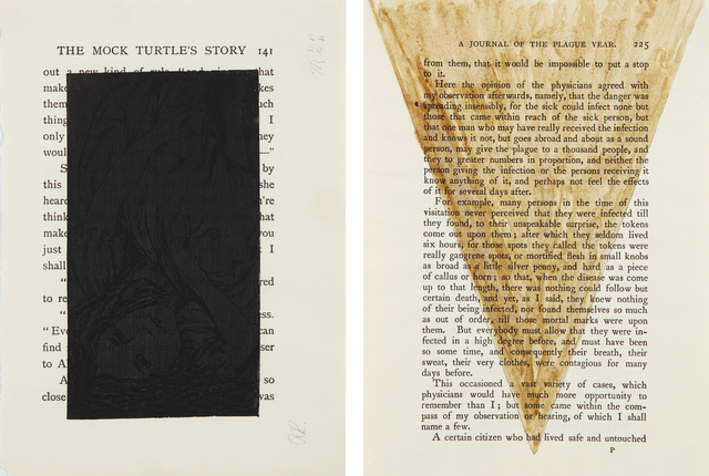 Tim Rollins and K.O.S., 'Black Alice; and A Journal of the Plague Year', 1988, Phillips