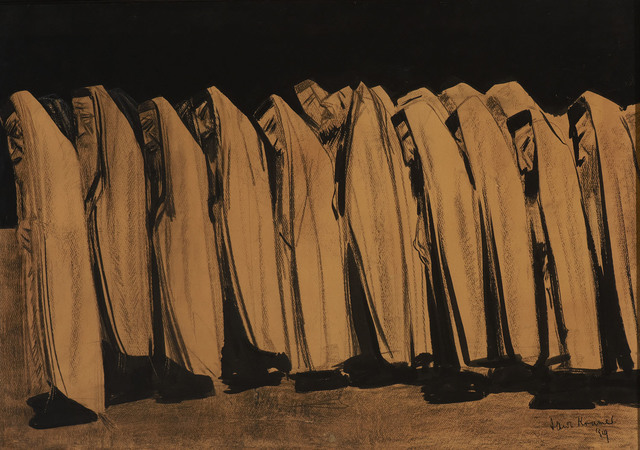 , 'The Day of Atonement ,' 1919, Ben Uri Gallery and Museum