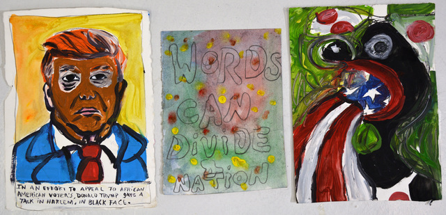 , 'Words Can Divide a Nation,' 2016, Ethan Cohen New York