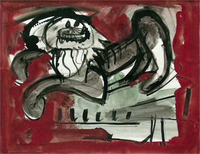 , 'Untitled (Scaredy Cat VI),' ca. 1942, Adelson Cavalier Galleries