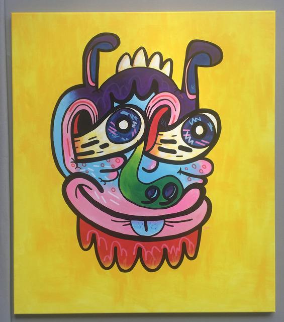 Jon Burgerman, 'Self Portrait', 2013, Vroom & Varossieau