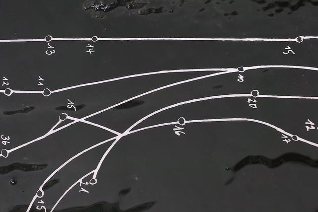 Cooper Jacoby, 'Stagnants (Declining Connection)', 2016, Epoxy resin, fiberglass, graphite, vinyl, Mathew