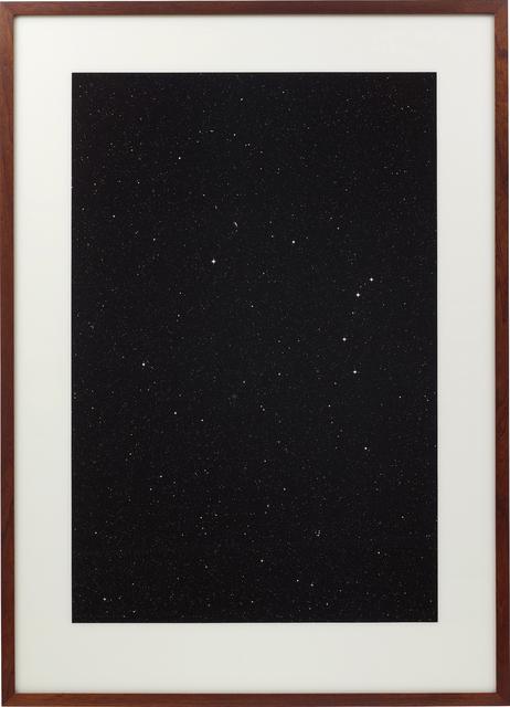 Thomas Ruff, 'Sterne 18h 22m/-60°', 1992, Phillips