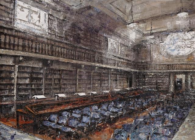, 'Magliabechiana Library,' 2013, Galleria Russo