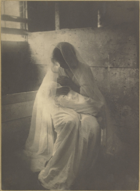 , 'The Manger (Ideal Motherhood),' 1899, J. Paul Getty Museum