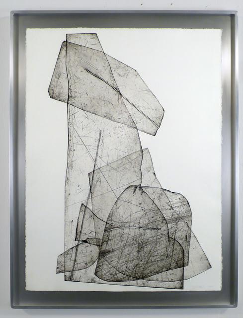 , 'Batholith Etching, Monoprint #A-2,' 2010, Diane Rosenstein