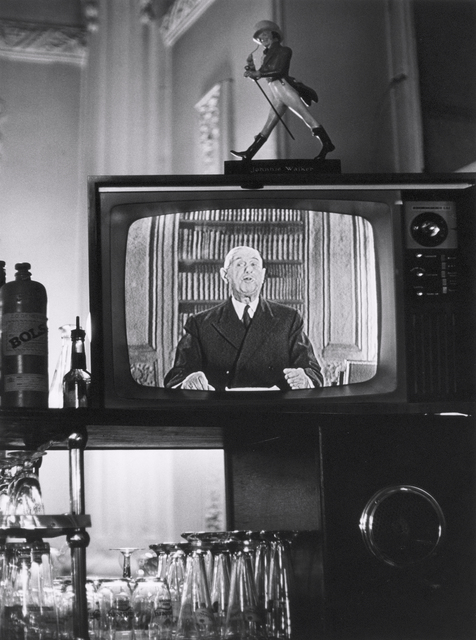 Max Scheler, 'Charles de Gaulle on television in a small town bar, France 1965', Michael Hoppen Gallery