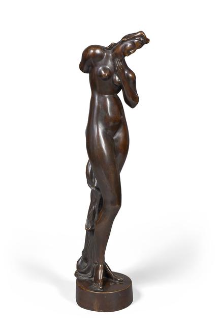 Alexander Archipenko, 'Standing Nude', Sculpture, Bronze with brown patina, Doyle