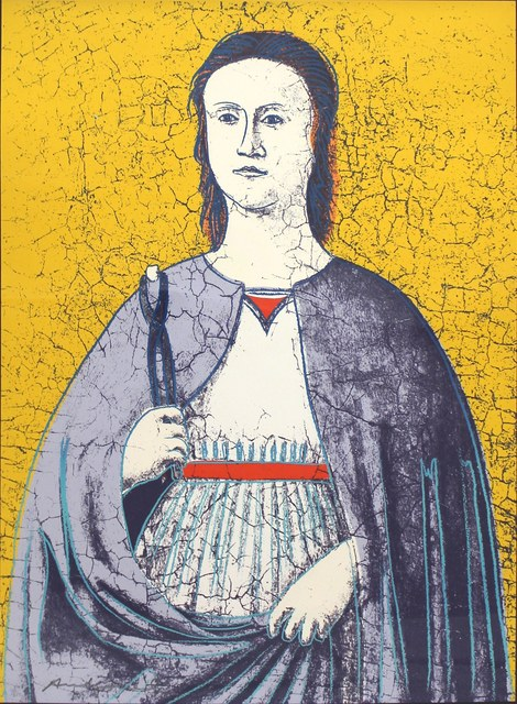 Andy Warhol, 'Saint Apollonia (FS II.333)', 1984, Print, Screenprint on Essex Offset Kid Finished Paper, Revolver Gallery