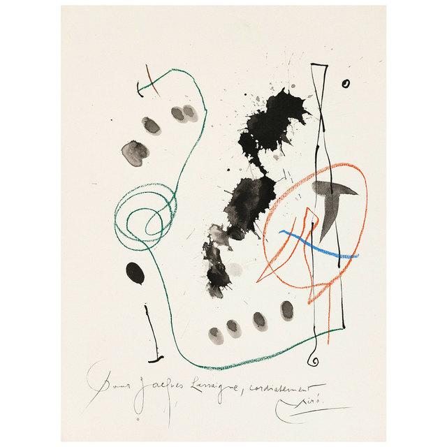 Joan Miró, 'Quelques Fleurs #11: Féquet', 1964, Caviar20 Gallery Auction