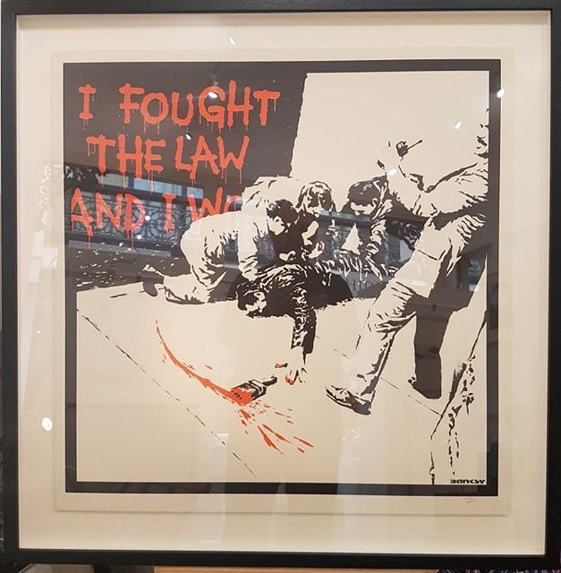 Banksy, 'I Fought the Law', 2004, Hidden