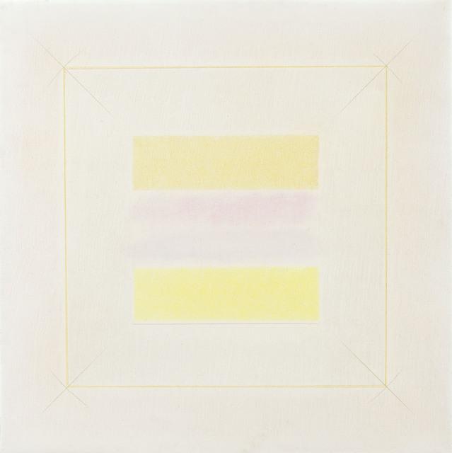 Riccardo Guarneri, 'Due gialli', 1972, rosenfeld porcini