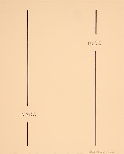 , 'No Title, Visual Poem,' , Roberto Alban Galeria de Arte