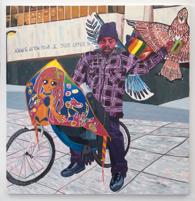 , 'Kevin the Kiteman,' 2016, The Studio Museum in Harlem