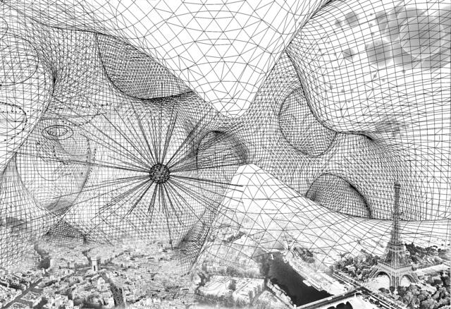 , 'Paris/Cloud Cities,' 2017, Esther Schipper