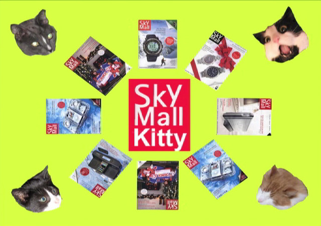 Nina Katchadourian, 'Sky Mall Kitties', 2010, Catharine Clark Gallery