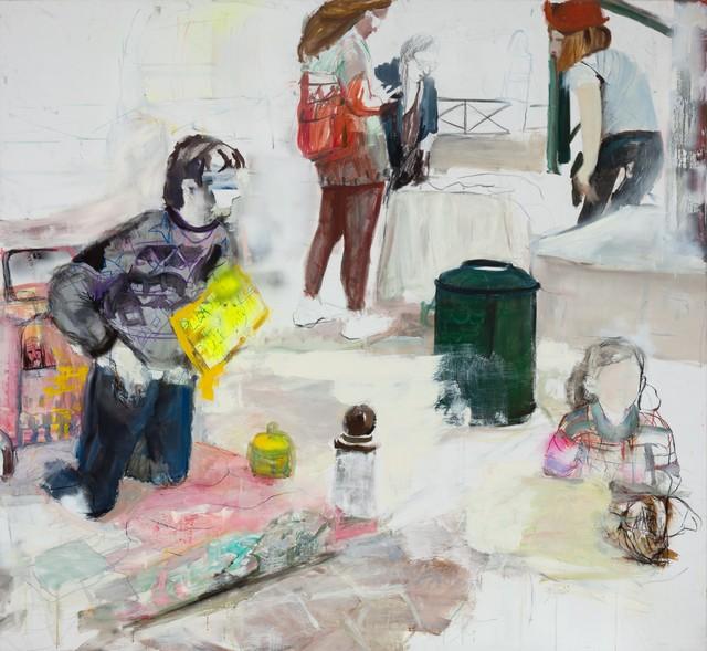 Kim Corbisier, 'Untitled (beggar)', 2011, Inda Gallery