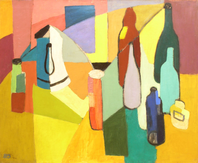 , 'Still Life with Bottles ,' , Dolan/Maxwell