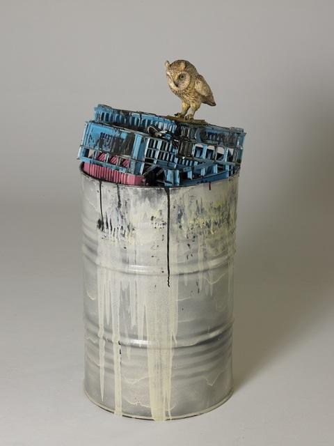 , 'Barile con Civetta,' 2005, Galleria Tega