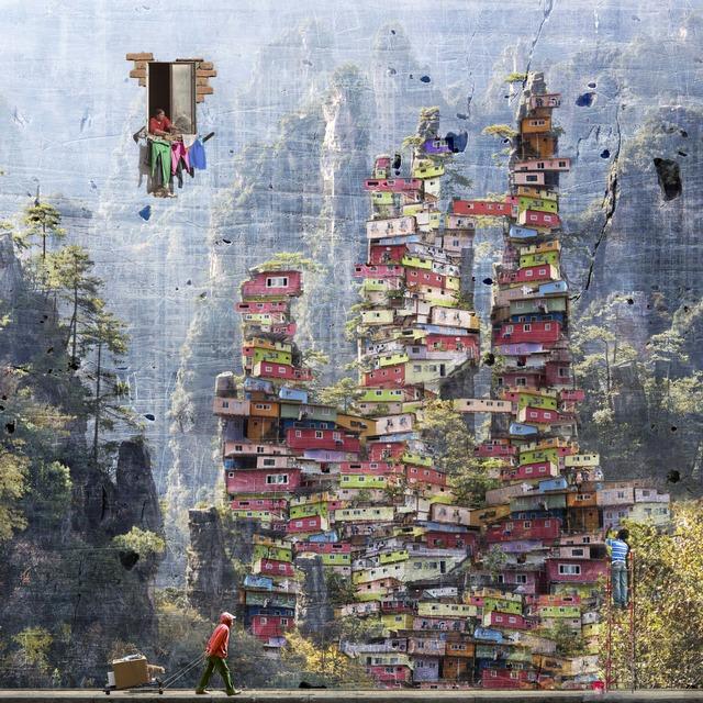 Marie-Laure Vareilles aka Maïlo, 'Urbanisation Avatar', 2018, Simard Bilodeau Contemporary