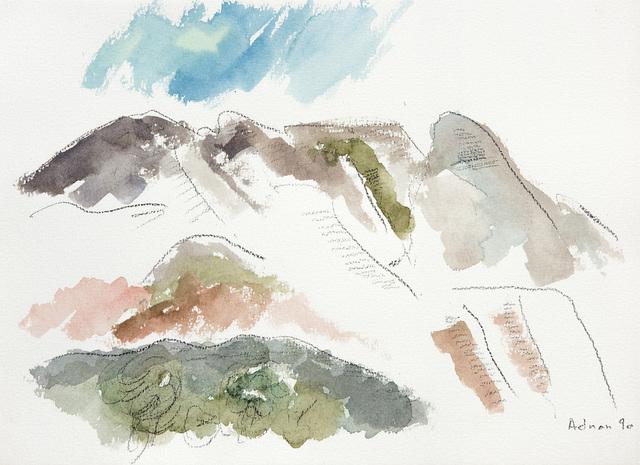 , 'Montagne Sainte Victoire 10,' 1990, Galerie Lelong & Co.