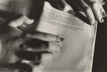 , 'She always read the endings of books before the beginnings,' 1978, Robert Mann Gallery