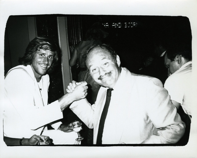 , 'Andy Warhol, Photograph of Bjorn Borg and Lester Persky, 1982,' 1982, Hedges Projects